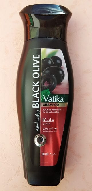 Шампунь Ватика с черным тмином и оливкой