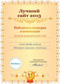 Лучший сайт 2013