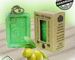 Натуральное мыло Амана с Оливками