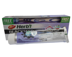 Зубная паста с черным тмином Dabur BlackSeed
