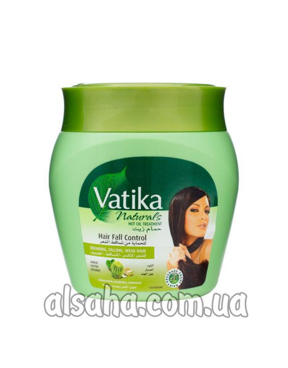 Маска для Волос с Кокосом, касторкой и хной Vatika volume and thickness
