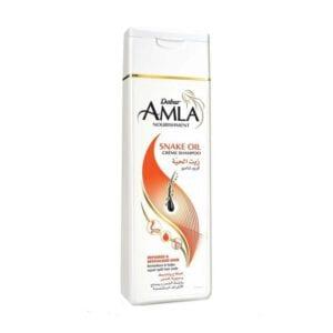 Шампунь кремовый со змеиным жиром Dabur Amla Nourishment Snake Oil Cream Shampoo