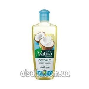 масло для волос с кокосом coconut hair oil vatika