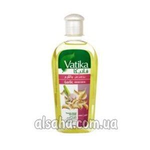масло против выпадения волос с чесноком garlic hair oil vatika