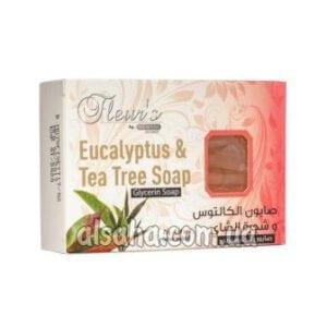 Мыло с Эвкалиптом и Чайным Деревом Hemani Eucalyptus & Tea Tree