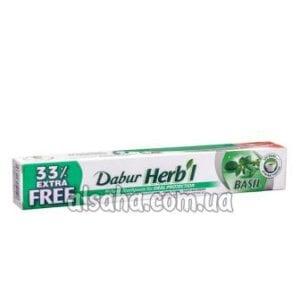зубная паста с базиликом Дабур herbl_toothpaste_basil