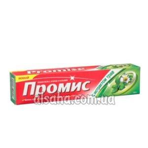 Зубная Паста с Травами, Фтором и Кальцием Promise