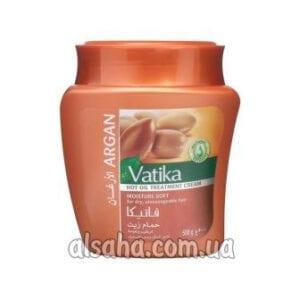 Маска для волос с арганой vatika cream argan